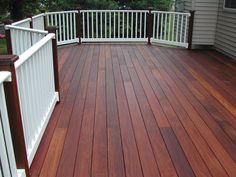 Ipe Decking with Eb-Ty Hidden Deck Fastening Systems | Flickr