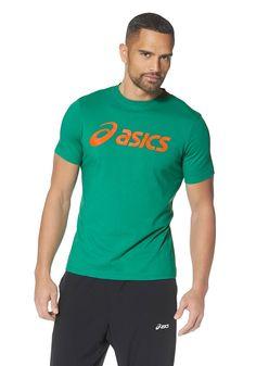 Produkttyp , T-Shirt, |Pflegehinweise , Maschinenwäsche, |Materialzusammensetzung , Obermaterial: 60% Baumwolle, 40% Polyester, |Stil , Sportlich, |Optik , Unifarben, |Farbe , Grün, |Applikationen , Logodruck, |Ausschnitt , Rundhals, |Ärmelstil , Kurzarm, |Rückenlänge , In Gr. M(48/50) ca. 70cm, |Auslieferung , Liegend, | ...