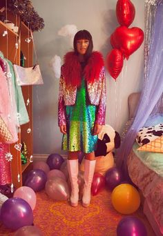 We wanna party with these girls confettis pinterest for Cabaret onirique