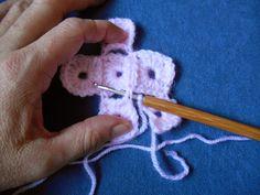 My world of crochet: Tutorial: Pixeldecke