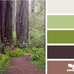 natures colour scheme
