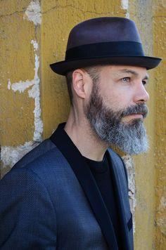 Borsalino and beard