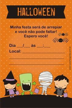Convites Grátis: Halloween