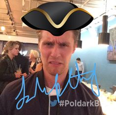 George is disgusted at being associated with the Cap'n #PoldarkBFI b