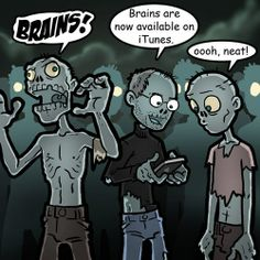 Zombies, the living dead