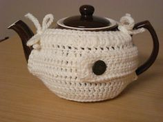 Simple Teapot Cozy: free pattern