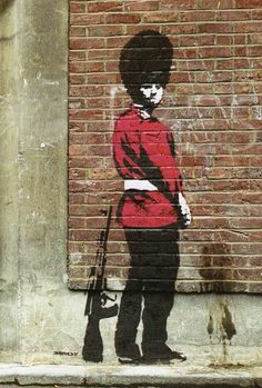 Want some Banksy prints in Australia? Check out our wide range of Banksy prints, canvas prints and posters and buy online today! Arte Banksy, Banksy Graffiti, Graffiti Artwork, Bansky, Art Mural, Murals, Graffiti Wall, Street Art Banksy, 3d Street Art
