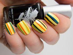 manicurator: Priti NYC and Oscar Carvallo Couture Collaboration Nail Art