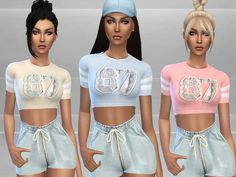 The Sims Resource: Gym Outfit by Puresim • Sims 4 Downloads