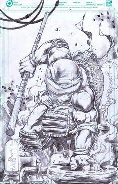 Donatello by ~emilcabaltierra on deviantART
