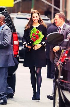 Duchess of Cambridge at Northside center for child development in Harlem NY 2014.