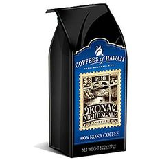 Kona Coffee from the Big Island of the Hawaiian Islands Coffee Can Crafts, Hawaiian Coffee, Kona Coffee, Coffee Beans, Nightingale, Canning, Quotes, Gourmet, Quotations