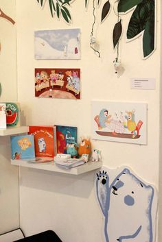 http://arihoma.wordpress.com/2014/02/11/ma-childrens-book-illustration-graduate-show-photos/