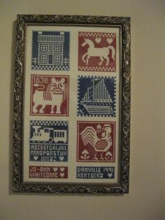 Sampler made by Jo-Ann Whitcomb