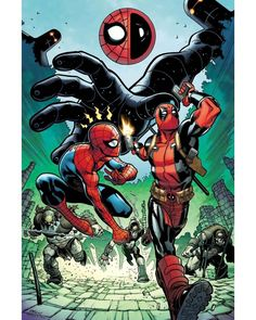 ¿Podrán finalmente el Mercenario Bocazas y Spidey terminar con Itsy Bitsy? ¡Descúbranlo en #SpiderMan #Deadpool no.13!    #marveluniverse #marvelcomics #superhero #marvelentertainment   #cover #marvelcomicsmexico