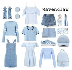 Ravenclaw Wardrobe by izzy-fizzy251004 on Polyvore featuring polyvore, fashion, style, Topshop, Miss Selfridge, BB Dakota, adidas, MICHAEL Michael Kors, Bogner, rag & bone, Casetify, For Art's Sake, Estée Lauder, Marc Jacobs and clothing