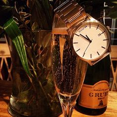 Champagne & Watches.