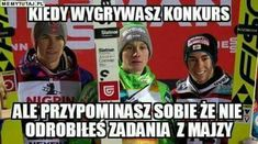 Weekend Humor, Ski Jumping, The Vamps, Creepypasta, Reaction Pictures, Skiing, Mood, Polish Memes, Funny