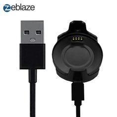 Charging Dock Watch Cable for Zeblaze Thor, Seiko Diver, Android, Black Rubber, Cool Watches, Watch Bands, Smart Watch, Consumer Electronics, Charger