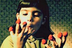 Amelie Poulain when she was little.