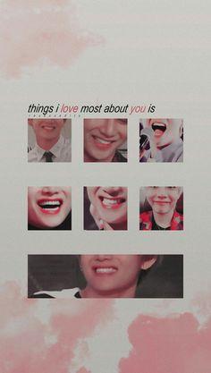 My favorite smile to EVER exsist. Seokjin, Hoseok, Namjoon, Bts Taehyung, Bts Bangtan Boy, Taekook, Kpop Wallpapers, Bts Bg, Bts Backgrounds