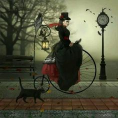 cute fantasy art - For more great pics, follow bikeengines.com