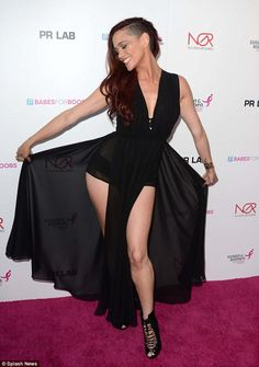Jessica Sutta  at Babes For Boobs Auction | Daily Mail Online