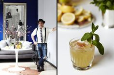 How to Throw a Modern Kentucky Derby Party - Entertaining Idea of the Day -produced by AphroChic for Lonny.
