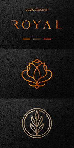 Design Squad, Foil Stamping, Photo Effects, Corporate Identity, Mockup, Metallic, Hearts, Branding, Tutorials