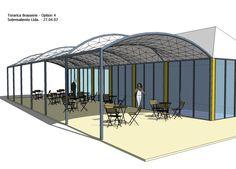 Roof Architecture, Gazebo, Outdoor Structures, Letter Designs, Spaces, Facades, Architecture, Blue Prints, Kiosk