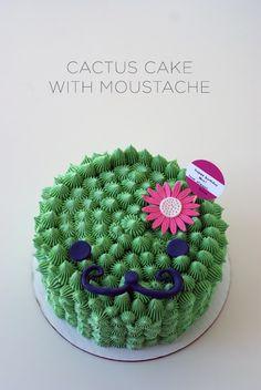 #cactuscake by #cococakeland