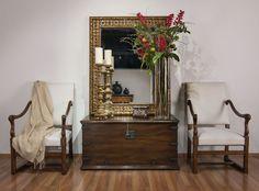 Alfonso Marina Ebanista; Louis XVII Chair, Aragon Coffer, Sevilla Candlestick, Toledo Mirror & Allende Small Coffer