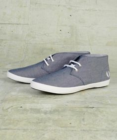 Fred Perry Byron Mid Chambray Boot