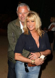 Suzanne Somers and Alan Hamel - married 35 years