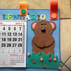 Resultado de imagen para painel de calendario em eva