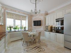 #Дизайн интерьера #кухни #студии