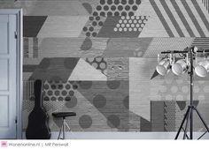 Behangcollectie Street Art van Mr. Perswall #wallcoverings #behang #interieur #inspiratie #wonen