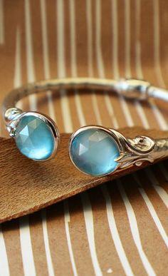 Silver/stainless Steel Tempation Cuff Bracelet