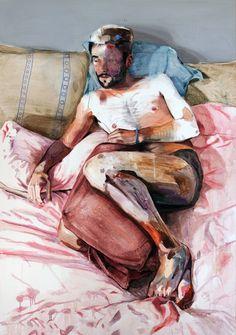 "Saatchi Online Artist: Lou ROS; Mixed Media, 2012, Painting ""CORPUS 10"""