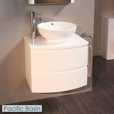 Voss 620 Wall Mounted Vanity Drawer Unit and Countertop Basin Basin Vanity Unit, Vanity Units, Vanity Sink, Downstairs Bathroom, Bathroom Sets, Home Design, Vanity Drawers, Countertop Basin, Modern Bathroom Design