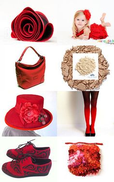 She...in red! by Anthi on Etsy--Pinned with TreasuryPin.com