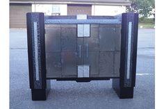 Stylish Upcycled Art Deco Period Sideboard | Vinterior   #20thcentury #artdeco