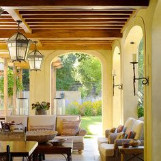 Spanish Style Enclosed Patio Design, Pictures, Remodel, Decor and Ideas - page 6