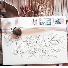 Envelope calligraphy | designsgirl