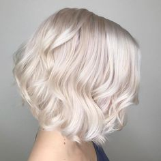 awesome 50 Picture Perfect Platinum Blonde Hair Looks - The Alluring Light Hues Check more at http://newaylook.com/best-platinum-blonde-hair-ideas/