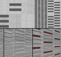 GFRC Concrete Shades  http://www.architecturalmaterials.com/category/sunshades