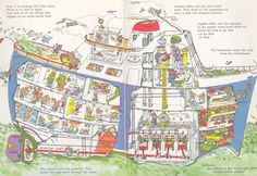 richard scarry busytown - Google Search