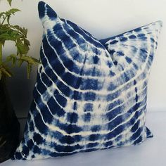 Decorative Pillow Cases Indian Tie Dyed Indigo Blue Cushion Cover Intetior Home Decore Sofa Cushion Shibori Gift Pillows Christmas Gift – Sofa Design 2020 Decorative Pillow Cases, Decorative Cushions, Blue Cushions, Cushions On Sofa, Blue Cushion Covers, Pillow Covers, Christmas Pillow, Christmas Cover, Handmade Cushions
