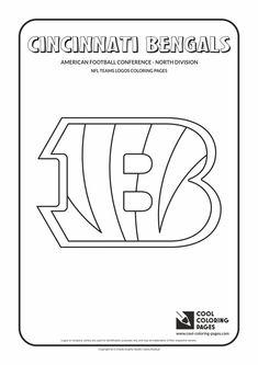 nfl cincinnati bengals coloring pages   Football Helmet Cinncinnati Bengals Coloring Page   Kids ...