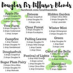 Douglas fir diffuser blends